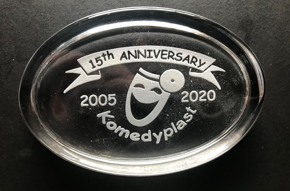 Komedyplast-15thAnniv-paperweight.jpg
